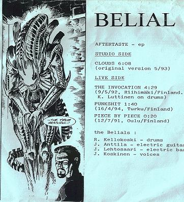 Belial - Aftertaste