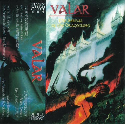 Valar - The Arrival of the Dragonlord