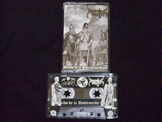Heretical Warlust / Magh Mor - Sonido de la destrucción total