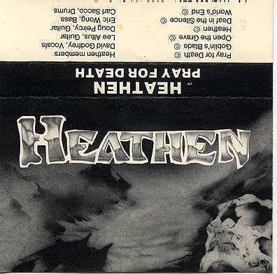 Heathen - Pray for Death