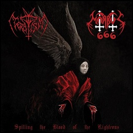 Teratism / Morbus 666 - Spilling the Blood of the Righteous