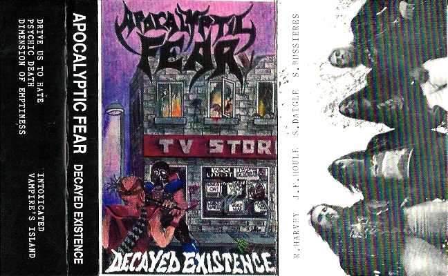 Apocalyptic Fear - Decayed Existence
