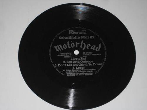 Motörhead - Schallfolie Mai 82