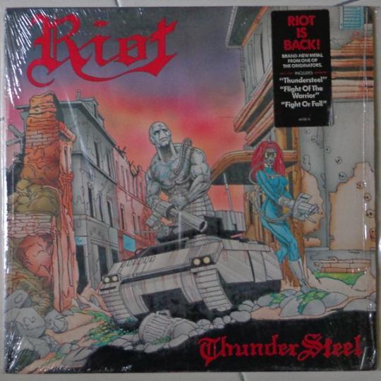 Riot - Thundersteel