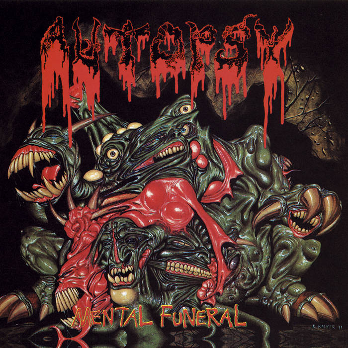 Autopsy - Mental Funeral (20th Anniversary Edition CD + DVD)