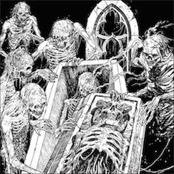 Coffins / Macabra - In Quarantine with Death