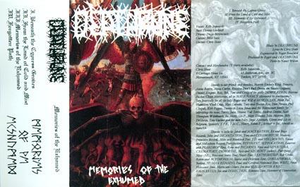Deathrune - Memories of the Exhumed