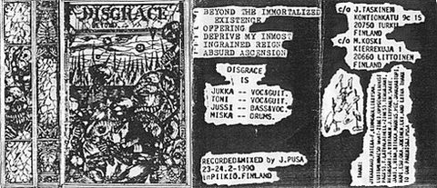 <br />Disgrace - Beyond the Immortalized Existence