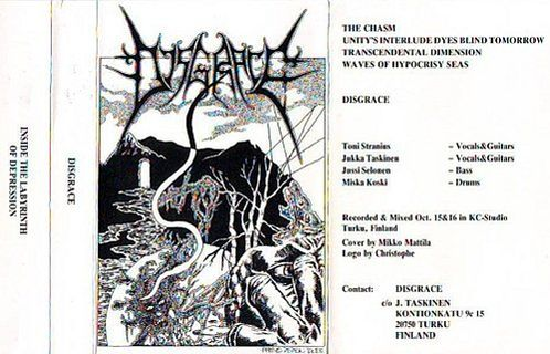 Disgrace - Inside the Labyrinth of Depression