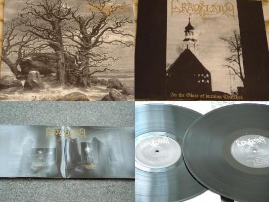 Graveland - The Celtic Winter / In the Glare of Burning Churches