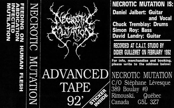 Necrotic Mutation - Advanced Tape '92