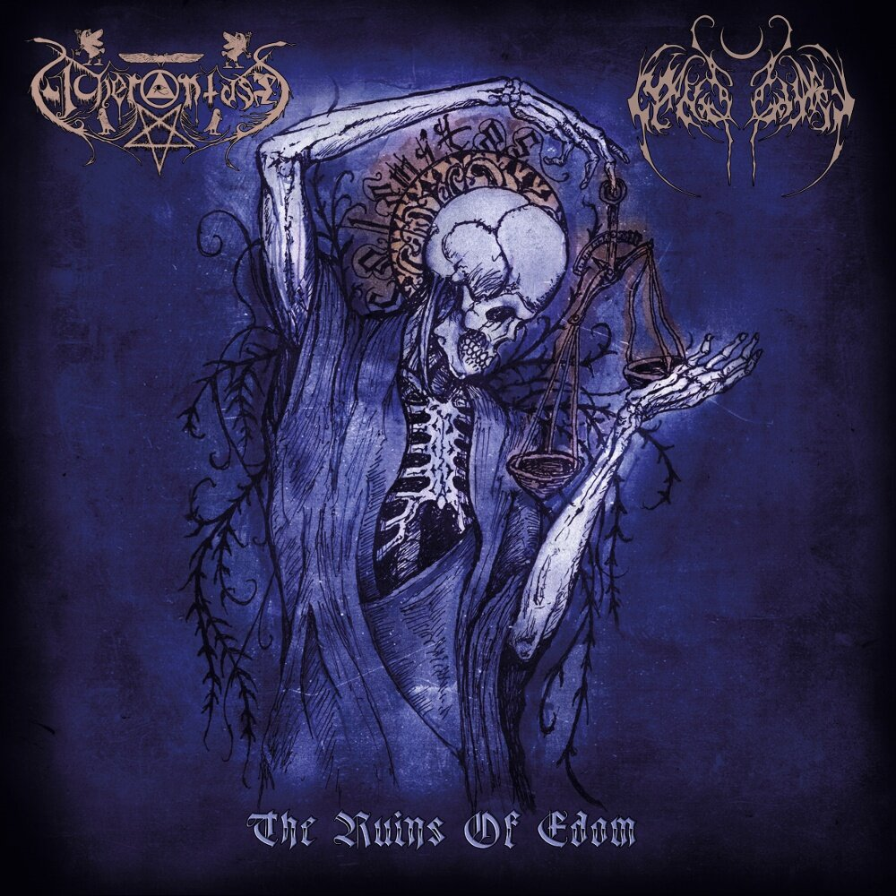 Nightbringer / Acherontas - The Ruins of Edom