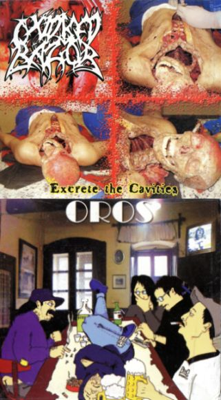 Oxidised Razor / Oros - Excrete the Cavities / Untitled