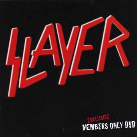 Slayer - Exclusive Members Only DVD