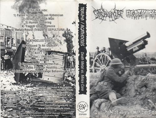Agathocles / Trauma - Death Metal vs. Mince Core