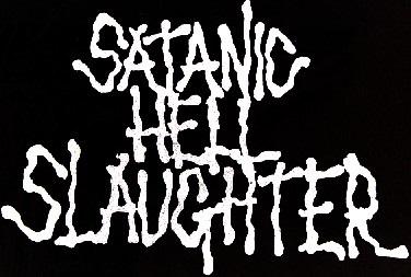 Satanic Hellslaughter - Logo