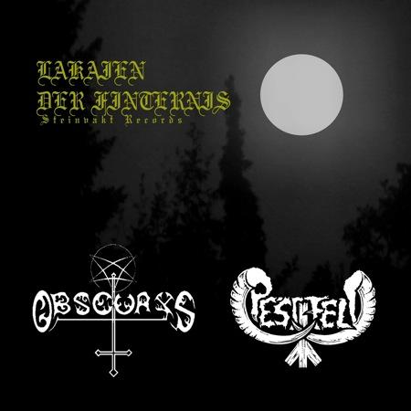 Obscurys / Pestfeld - Lakaien der Finsternis