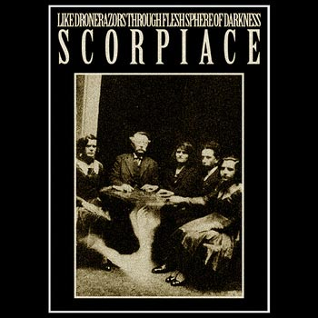 Of Darkness / Like Drone Razors Through Flesh Sphere - Scorpiace