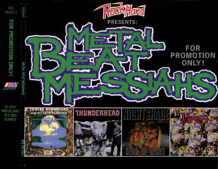 Hades / Thunderhead / Nightshade - Metal Beat Messiahs