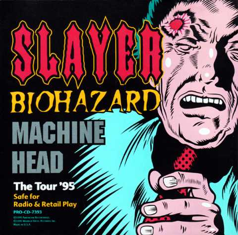Slayer / Machine Head - The Tour '95