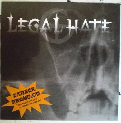 Legal Hate - 2 Track Promo CD