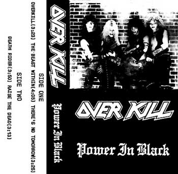 Overkill - Power in Black
