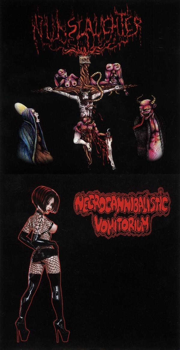 Nunslaughter - Nunslaughter / Necrocannibalistic Vomitorium