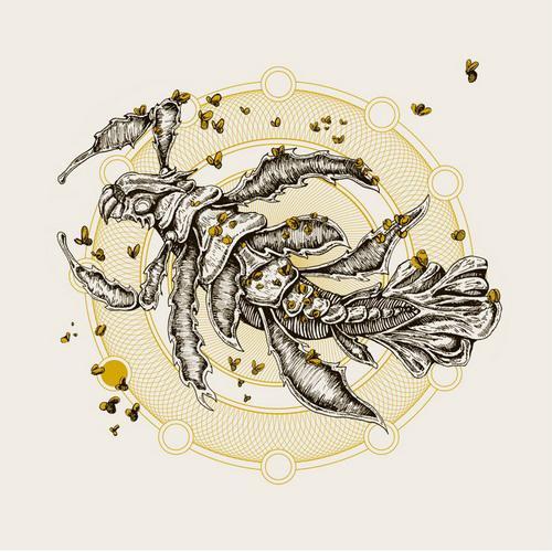 "Dukatalon / Rites - split 7"" (2012)"