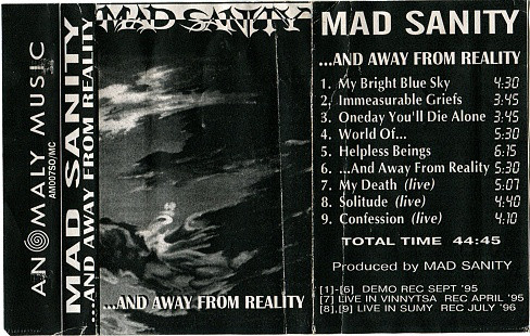 Mad Sanity - ...and Away from Reality