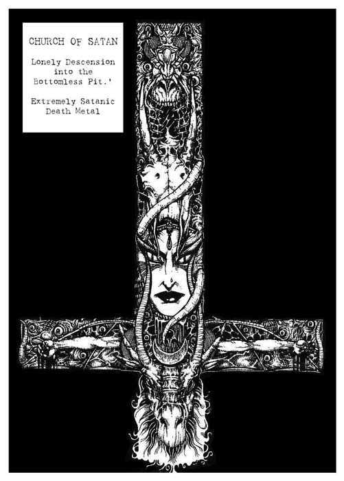 Church of Satan - Lonely Descension into the Bottomless Pit