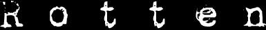 Rotten - Logo