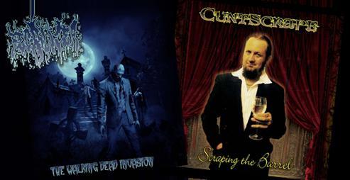 Cuntscrape / Fecalizer - Scraping the Barrel / The Walking Dead Invasion