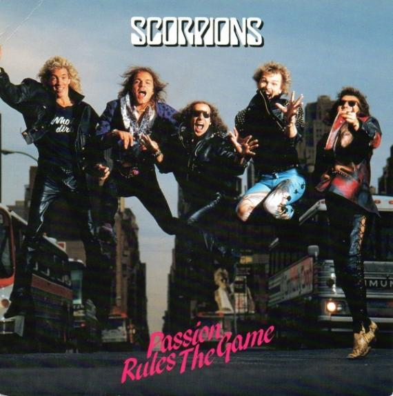 Scorpions - Passion Rules the Game