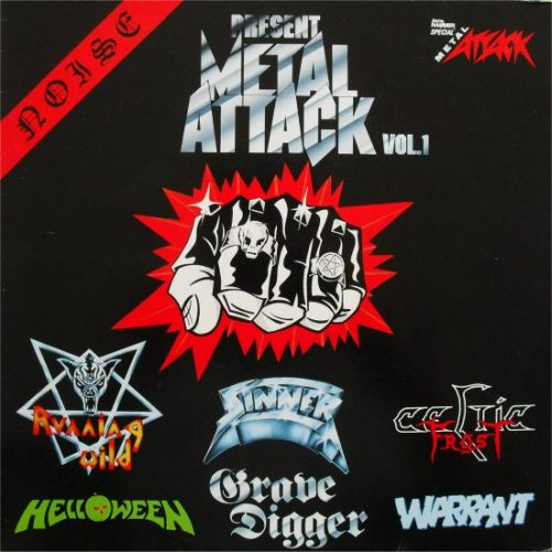 Helloween / Celtic Frost / Running Wild / Grave Digger / Sinner / Warrant - Metal Attack Vol. 1