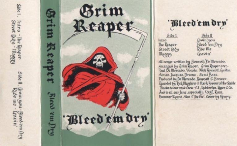 Grim Reaper - Bleed 'Em Dry