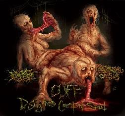 Cuff / No One Gets Out Alive / Guttural Jesus - Disfigured Creation Split