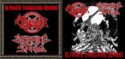 Storming Steels / Obsessör - Ultimate Thrashing Demons