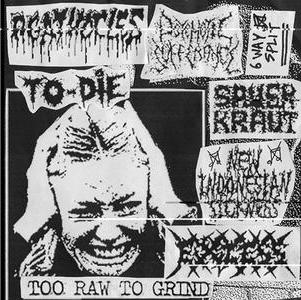 Agathocles / Excess - Too Raw to Grind