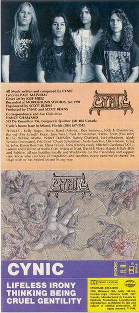 Cynic - Demo 1990