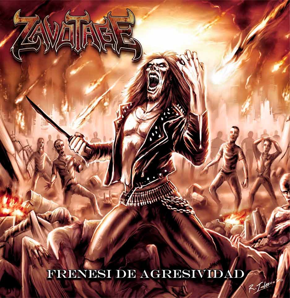 Zavotage - Frenesí de agresividad