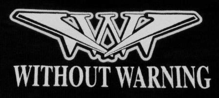 Without Warning - Logo