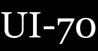 UI-70 - Logo