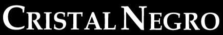 Cristal Negro - Logo