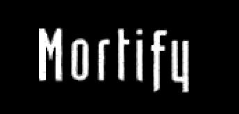 Mortify - Logo
