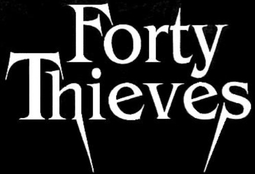 Forty Thieves - Logo