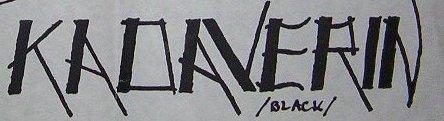Kadaverin - Logo