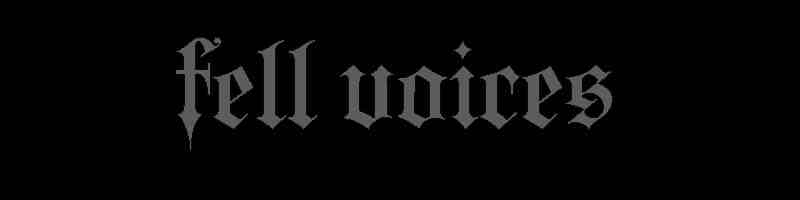 Fell Voices - Logo