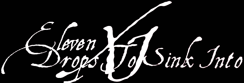 Eleven Drops to Sink Into - Logo