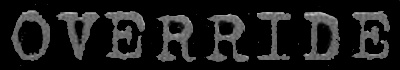 Override - Logo