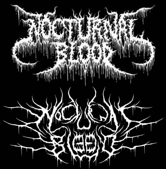 Nocturnal Blood - Logo